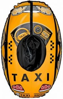 Тюбинг RT Машинка: Taxi Snow до 120 кг желтый ПВХ 6930