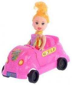 Кукла Наша Игрушка Сид с машинкой
