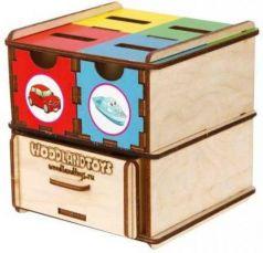 Комодик-куб Транспорт