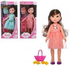 Кукла Наша Игрушка Нарядная с сумочкой