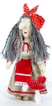 Набор для создания игрушки Перловка Баба Яга