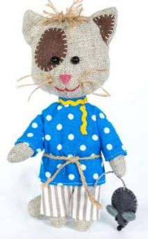 Набор для создания игрушки Перловка Домовитый кот Василий