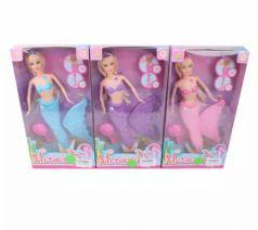 Кукла Наша Игрушка Кукла-Русалка 35 см светящаяся