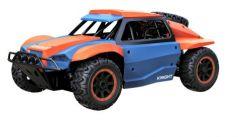 Машинка на радиоуправлении Пламенный мотор Шорт корс р/у Смерч пластик от 6 лет сине-оранжевый