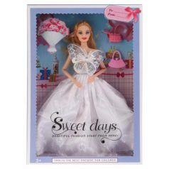 Кукла 29см, гнущаяся, с аксесс., цвет в ассорт. 502
