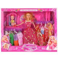 Кукла 29см, с дочкой на качелях
