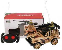 Военный автомобиль на радиоуправлении Shantou B1710609 пластик, металл от 6 лет цвет в ассортименте