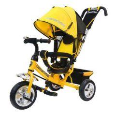 "Велосипед Lexus Trike ВЕЛОСИПЕД 3КОЛ. EVA 10И8"" 10""/8"" желтый"