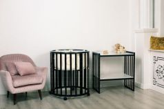 Кроватка для новорожденного Incanto Mimi 7в1 венге