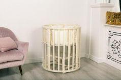 Кроватка для новорожденного Incanto Mimi 7в1 cлоновая кость
