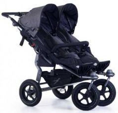 Прогулочная коляска для двойни TFK Twin Adventure (premium grey)