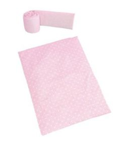 Бортики и покрывало для колыбели Micuna Galaxy TX-1823(Galaxy Pink)