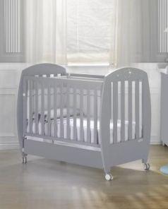 Кроватка 140x70 Micuna Valeria Relax Luxe Big(Berliner Grey)