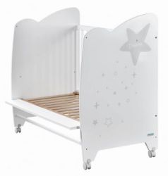 Кроватка 120x60 Micuna Estela(White/Grey)