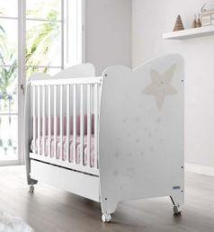 Кроватка 120x60 Micuna Estela(White/Sand)