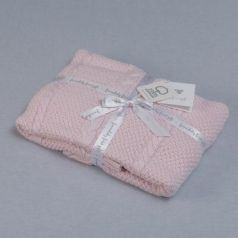 Плед Funnababy Capelli 75х110 см вязаный 9215(Розовый)
