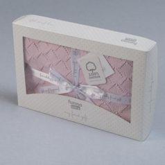 Плед Funnababy Punto 75х110 см вязаный 9216(Розовый)