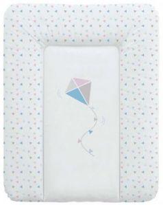 Пеленальный матраc на комод 70x50см Ceba Baby W-143 (kite blue/pink)