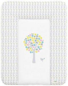 Пеленальный матраc на комод 70x50см Ceba Baby W-143 (magic tree blue)