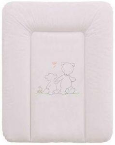 Пеленальный матраc на комод 70x50см Ceba Baby W-143 (papa bear grey)