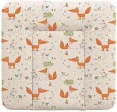 Пеленальный матраc на комод 70x85см Ceba Baby Caro W-134 (fox ecru)