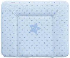 Пеленальный матраc на комод 70x85см Ceba Baby Caro W-134 (stars blue)