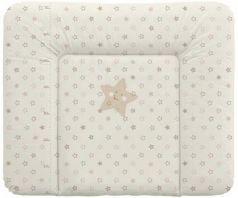 Пеленальный матраc на комод 70x85см Ceba Baby Caro W-134 (stars beige)