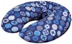 Подушка для кормления Ceba Baby Mini (трикотаж/circles blue)