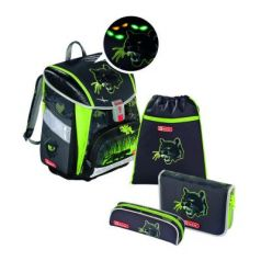 Ранец Step By Step Touch2 Flash Wild Cat 4 предмета