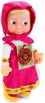 Мягкая игрушка кукла МУЛЬТИ-ПУЛЬТИ Маша текстиль пластик 22 см