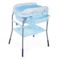 Стол пеленальный с ванночкой Chicco Cuddle & Bubble Comfort (ocean)