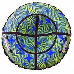Санки надувные Тюбинг RT Калейдоскоп автокамера, диаметр 110см