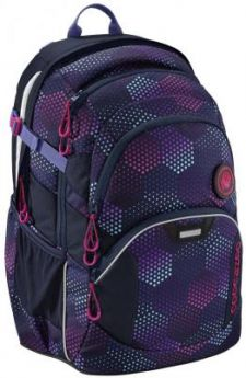Школьный рюкзак светоотражающие материалы Coocazoo JobJobber2: Purple Illusion 30 л синий фиолетовый 00183623