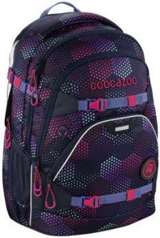 Школьный рюкзак светоотражающие материалы Coocazoo ScaleRale: Purple Illusion 30 л фиолетовый 00183610