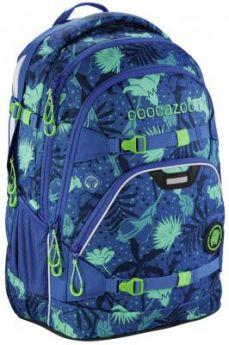 Школьный рюкзак светоотражающие материалы Coocazoo ScaleRale: Tropical Blue 30 л синий 00183609