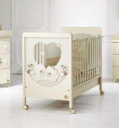 Детская кровать Sogno Carezza кремовый