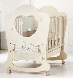 Детская кровать Sogno кремовый
