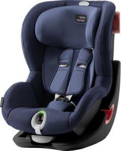 Детское автокресло King II LS Black Series Moonlight Blue Trendline