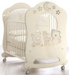 Детская кровать Happy Family Oblo, крем