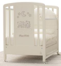 Детская кровать Happy Family Strass, крем