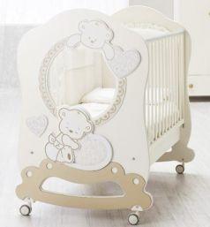 Детская кровать Love Oblo, крем