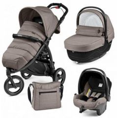 Коляска 3-в-1 Peg-Perego Book Cross + Set XL Elite (class beige)