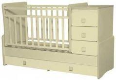 Кроватка с маятником Антел Ульяна 2 (слоновая кость)