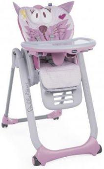 Стульчик для кормления Chicco Polly 2Start (miss pink)