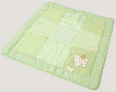 Одеяло лоскутное 110x110см Labeillebaby (3604)