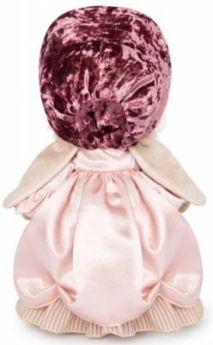 Мягкая игрушка зайка BUDI BASA Зайка Ми барышня в жемчужном искусственный мех 25 см