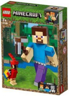 """Конструктор LEGO """"Большие фигурки. Стив с попугаем"""" 159 элементов"""