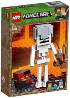 """Конструктор LEGO """"Большие фигурки. Скелет с кубом магмы"""" 143 элемента"""