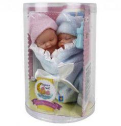 пупсики-близнецы в одеялке