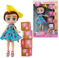 Кукла 1TOY Boxy Girls Brooklyn 20 см. с аксессуарами в 4-х коробочка 4х4х4 см., кор. 18х7,5х27 см.